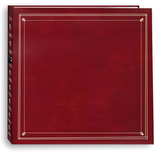 Pioneer Photo Albums MP-46 Full Size Memo Pocket Album (Burgundy)