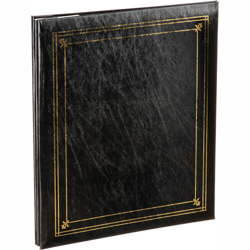 Pioneer Photo Albums PS-5781 5X7'' and 8X10'' X-Pando Pocket Album (Black)