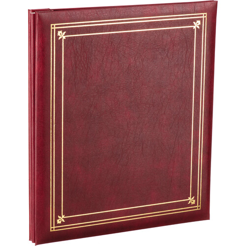 Pioneer Photo Albums PS-5781 5X7'' and 8X10'' X-Pando Pocket Album (Burgundy)