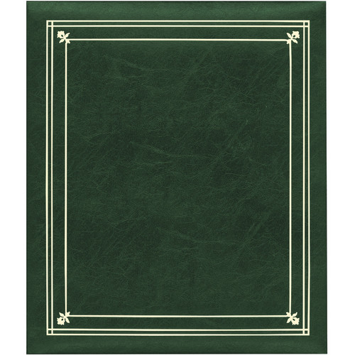 Pioneer Photo Albums PS-5781 5X7'' and 8X10'' X-Pando Pocket Album (Hunter Green)