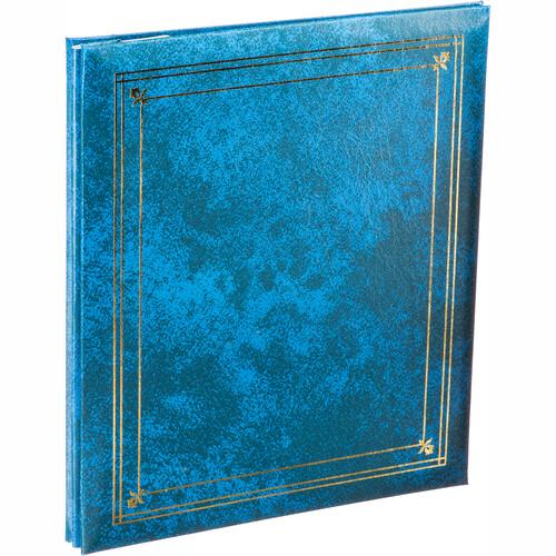 Pioneer Photo Albums PS-5781 5X7'' and 8X10'' X-Pando Pocket Album (Royal Blue)