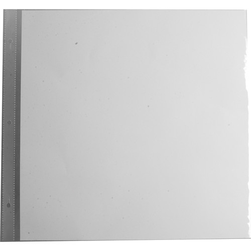 """Pioneer Photo Albums Refill Pages for Most Snapload, Post-Bound, 3-Ring,Staple-Strap Style Scrapbooks (12x12"""", White, Pack of 5)"""