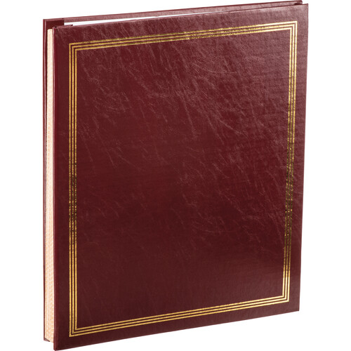 "Pioneer Photo Albums SJ-100 11.75x14"" Jumbo Post-Bound Scrapbook (Burgundy)"