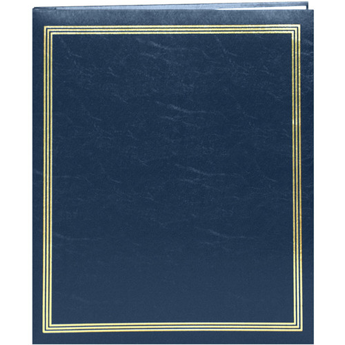 "Pioneer Photo Albums SJ-100 11.75x14"" Jumbo Post-Bound Scrapbook (Navy Blue)"