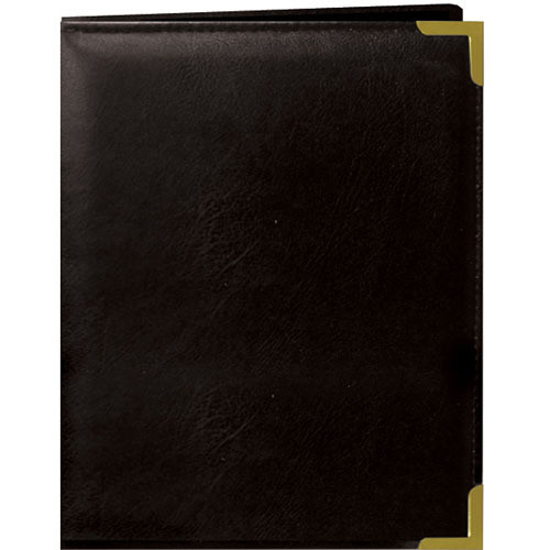 Pioneer Photo Albums Oxford Brass-Corner Mini Photo Album (Black)