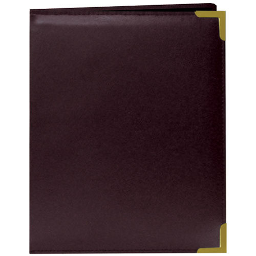 Pioneer Photo Albums Oxford Brass-Corner Mini Photo Album (Burgundy)