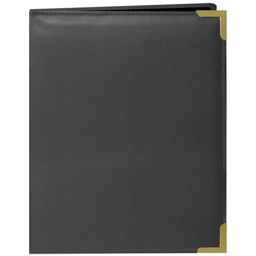 Pioneer Photo Albums Oxford Brass-Corner Mini Photo Album (Gray)