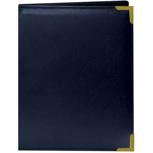 Pioneer Photo Albums Oxford Brass-Corner Mini Photo Album (Navy Blue)