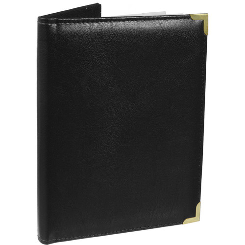 Pioneer Photo Albums SM57-BK Oxford Brass Corner Photo Album (Black)