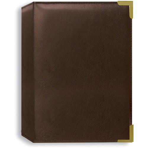 Pioneer Photo Albums SM57-BN Oxford Brass Corner Photo Album (Brown)