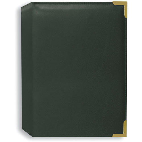Pioneer Photo Albums SM57-HG Oxford Brass Corner Photo Album (Hunter Green)