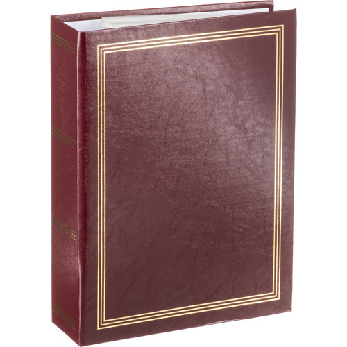 Pioneer Photo Albums ST-400 Memo Pocket 3-Ring Binder Album (Burgundy)