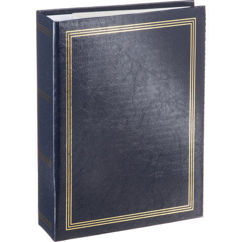 Pioneer Photo Albums ST-400 Memo Pocket 3-Ring Binder Album (Navy Blue)
