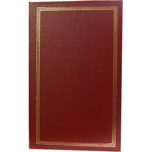 Pioneer Photo Albums STC-204 Pocket 3-Ring Binder Album (Burgundy)