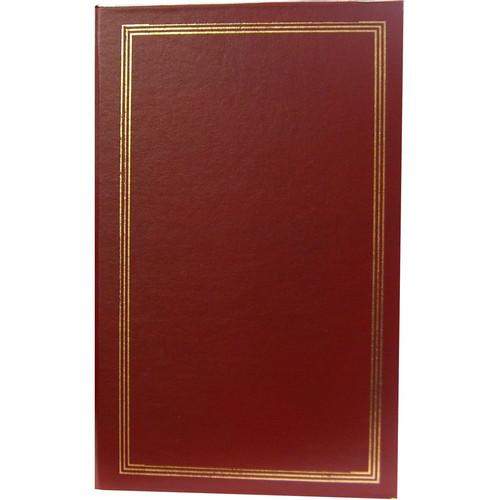 Pioneer Photo Albums STC-204 Pocket 3-Ring Binder Album (Burgundy)