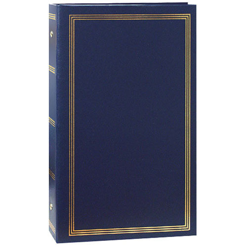 Pioneer Photo Albums STC-204 Pocket 3-Ring Binder Album (Navy Blue)