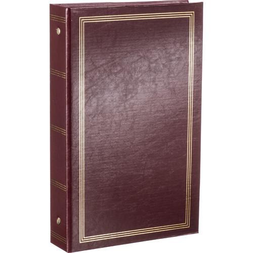 Pioneer Photo Albums STC-46 Pocket 3-Ring Binder Album (Burgundy)
