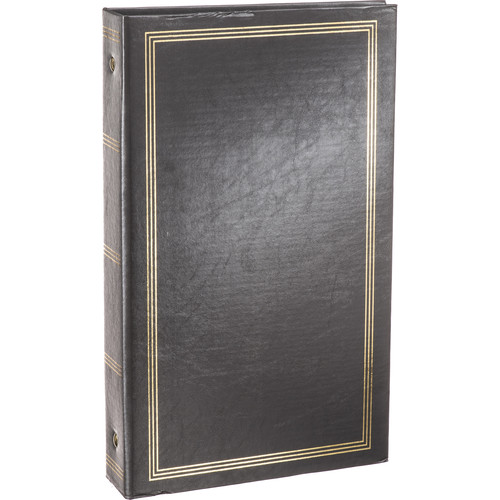 Pioneer Photo Albums STC-46 Pocket 3-Ring Binder Album (Dark Gray)