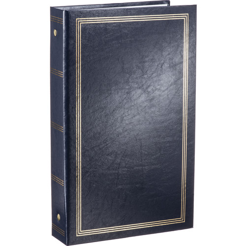 Pioneer Photo Albums STC-46 Pocket 3-Ring Binder Album (Navy Blue)