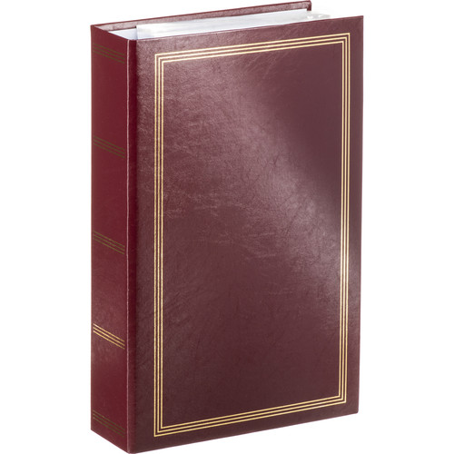 Pioneer Photo Albums STC-504 Pocket 3-Ring Binder Album (Burgundy)