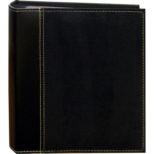 Pioneer Photo Albums SU246-BK Faux Suede Photo Album (Black)