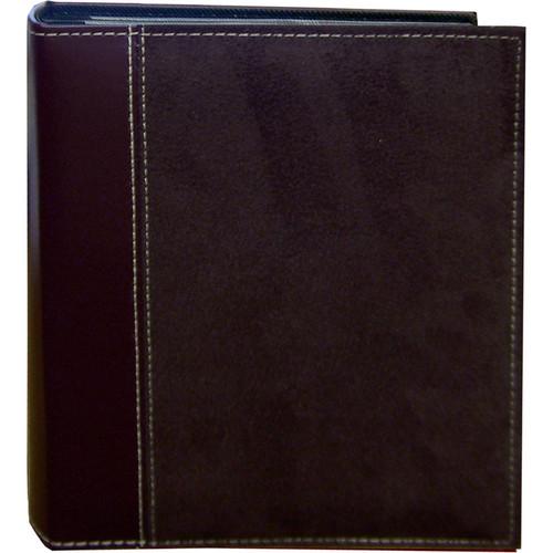 Pioneer Photo Albums SU246-BN Faux Suede Photo Album (Dark Brown)