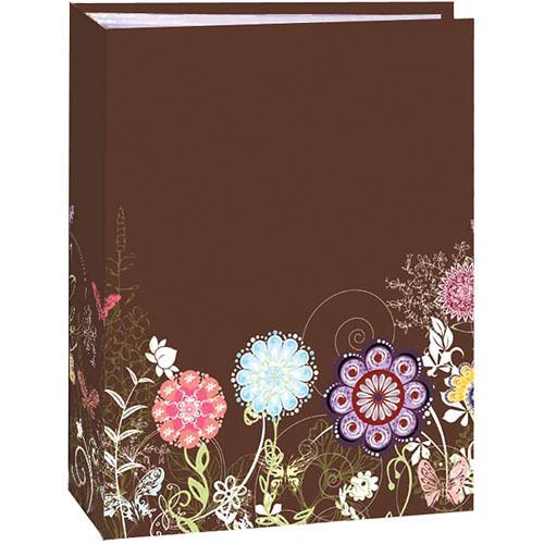 Pioneer Photo Albums TA-46 Book Style Slip-in Pocket Album (Growing Flowers)