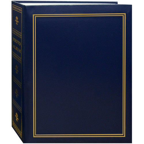 Pioneer Photo Albums TA-46 Book Style Slip-in Pocket Album (Navy Blue)