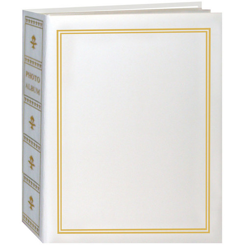 Pioneer Photo Albums TA-46 Book Style Slip-in Pocket Album (White)