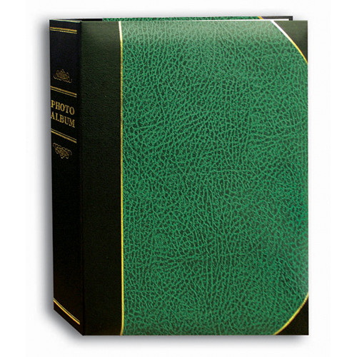 Pioneer Photo Albums Ledger Bi-Directional Le Memo Photo Album (Hunter Green)