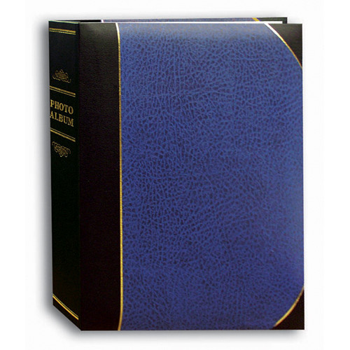 Pioneer Photo Albums Ledger Bi-Directional Le Memo Photo Album (Navy Blue)