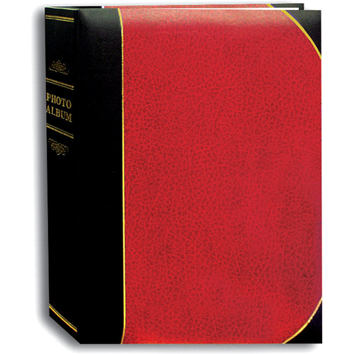 Pioneer Photo Albums Ledger Bi-Directional Le Memo Photo Album (Red)