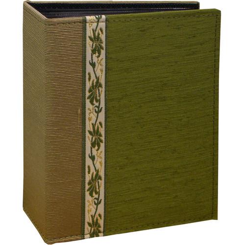 Pioneer Photo Albums TF4100-GN Tone-on Tone Fabric Photo Album (Green)