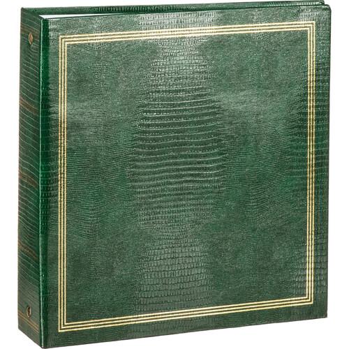 """Pioneer Photo Albums TRB-114 8.5x11"""" Scrapbook Binder (Hunter Green)"""