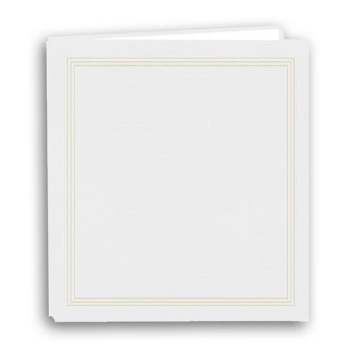 """Pioneer Photo Albums TRB-114 8.5x11"""" Scrapbook Binder (White)"""