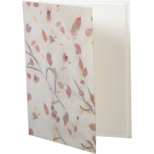 Pioneer Photo Albums XG-426 Flexible Cover Photo Album (Botanical Leaves)