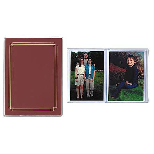 Pioneer Photo Albums XG-426 Flexible Cover Photo Album (Burgundy)