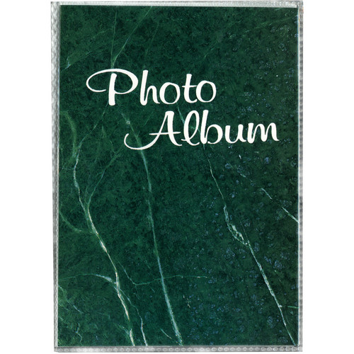 Pioneer Photo Albums XG-426 Flexible Cover Photo Album (Green Marble)
