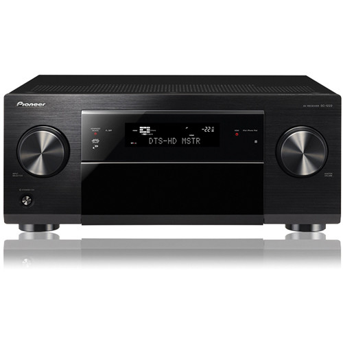 Pioneer SC-1222 7.2-Channel 3D Ready A/V Receiver