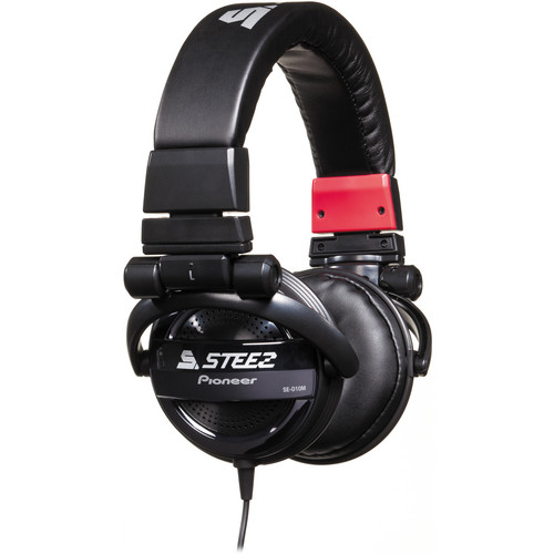 Pioneer Steez Dubstep On-Ear Stereo Headphones (Black)