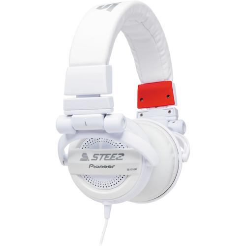 Pioneer Steez Dubstep On-Ear Stereo Headphones (White)