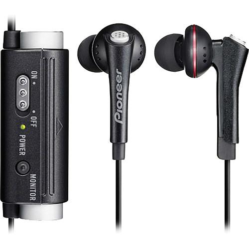 Pioneer SE-NC31C-K Noise Canceling In-Ear Headphones