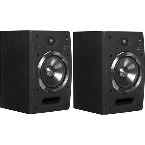 "Pioneer S-DJ05 5"" Active 2-Way Reference Monitoring Speakers (Pair, Black)"