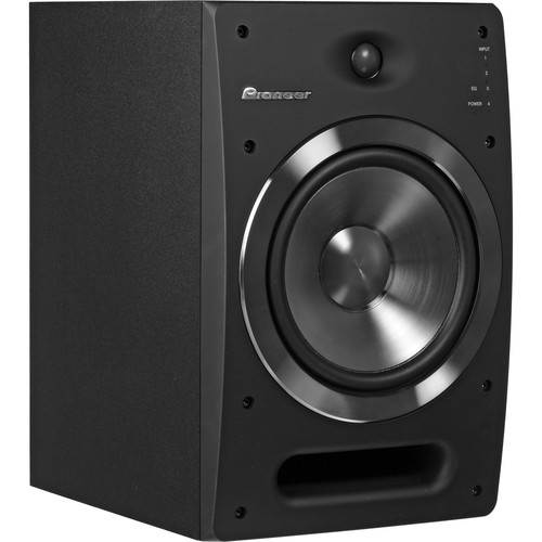 "Pioneer S-DJ08 8"" Active 2-Way Reference Monitoring Speakers (Pair)"