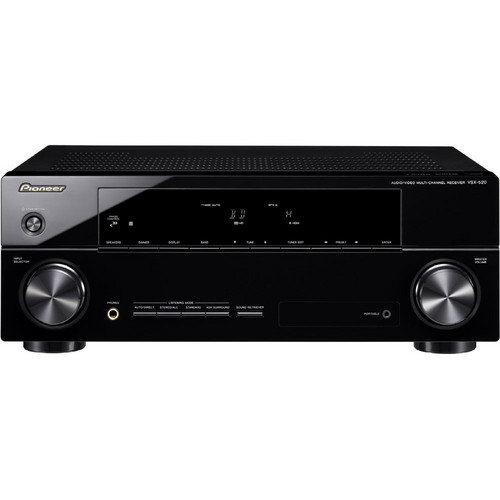 Pioneer VSX-520-K 5.1-Channel 3D Ready A/V Receiver