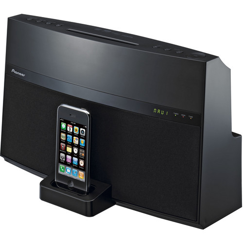 Pioneer XW-NAV1K-K Home Theater Dock for iPod & iPhone (Black)