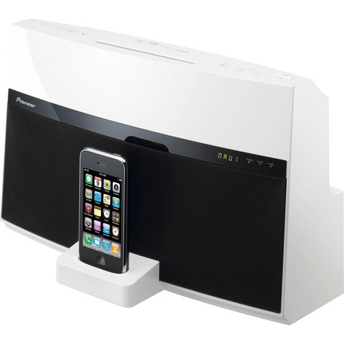 Pioneer XW-NAV1-K Home Theater Dock for iPod & iPhone (Black and White)