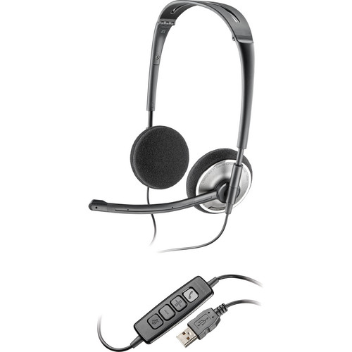 Plantronics Audio 478 Folding USB Headset