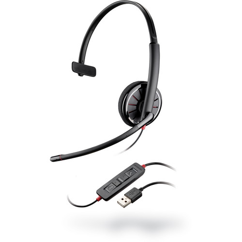 Plantronics Blackwire C310 Corded USB Monaural Headset for UC Applications