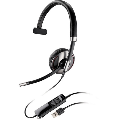 Plantronics Blackwire C710 Over-The-Head Monaural Headset for Unified Communication